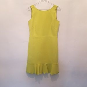 J.Crew bright yellow dress size 2